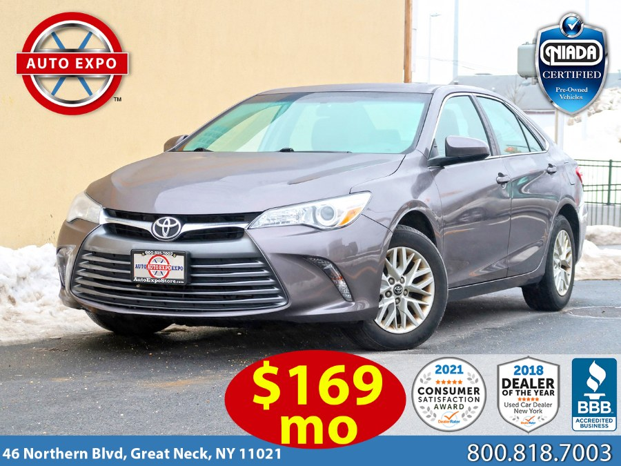 Used 2016 Toyota Camry in Great Neck, New York | Auto Expo Ent Inc.. Great Neck, New York
