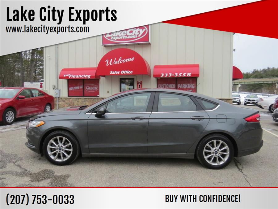 Used Ford Fusion SE 4dr Sedan 2017 | Lake City Exports Inc. Auburn, Maine