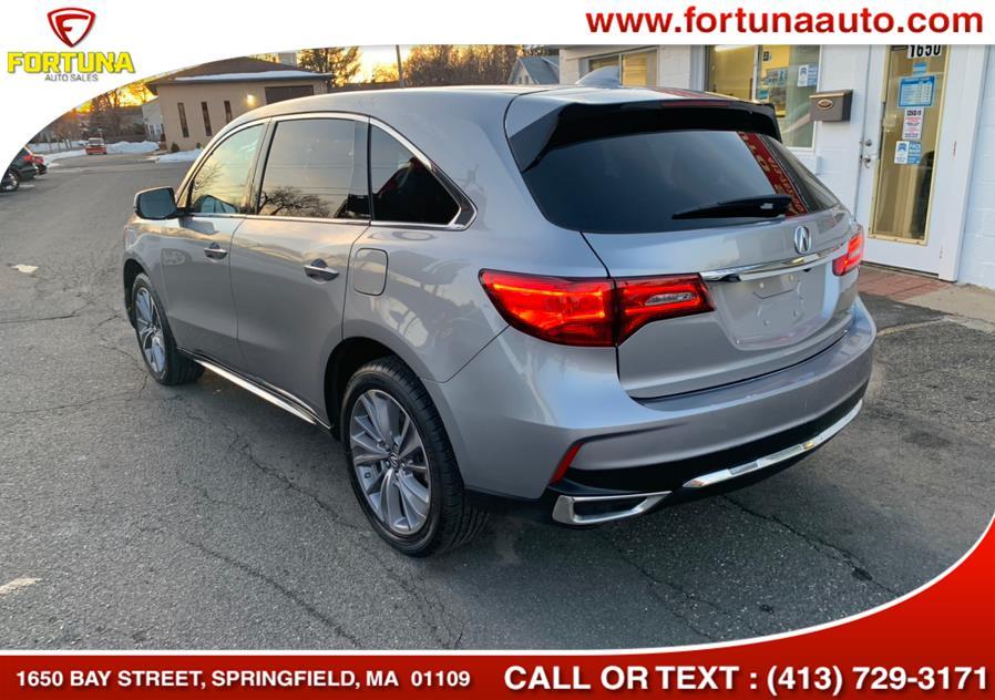 Used Acura MDX SH-AWD w/Technology Pkg 2017 | Fortuna Auto Sales Inc.. Springfield, Massachusetts