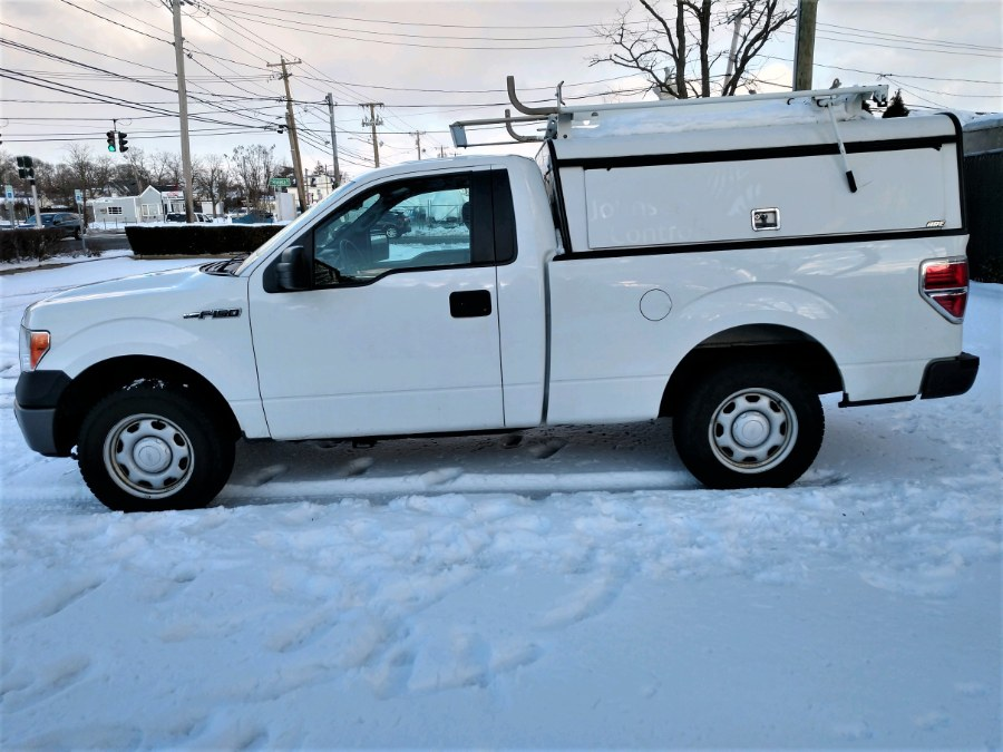 Used 2013 Ford F-150 w CAP & ROOF RACK in COPIAGUE, New York | Warwick Auto Sales Inc. COPIAGUE, New York