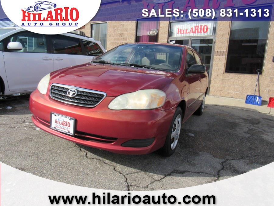 Used 2005 Toyota Corolla in Worcester, Massachusetts | Hilario's Auto Sales Inc.. Worcester, Massachusetts