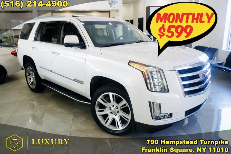 Used 2017 Cadillac Escalade in Franklin Square, New York   Luxury Motor Club. Franklin Square, New York