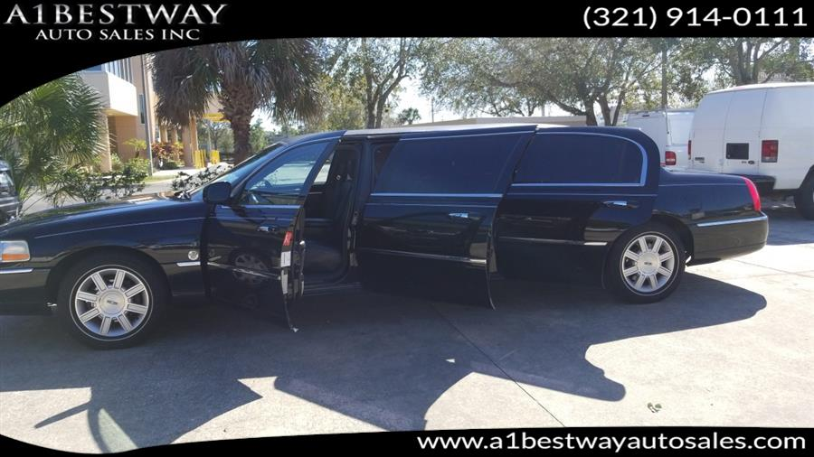 Used Lincoln Town Car 4dr Sdn Executive w/Limousine Pkg 2009 | A1 Bestway Auto Sales Inc.. Melbourne , Florida