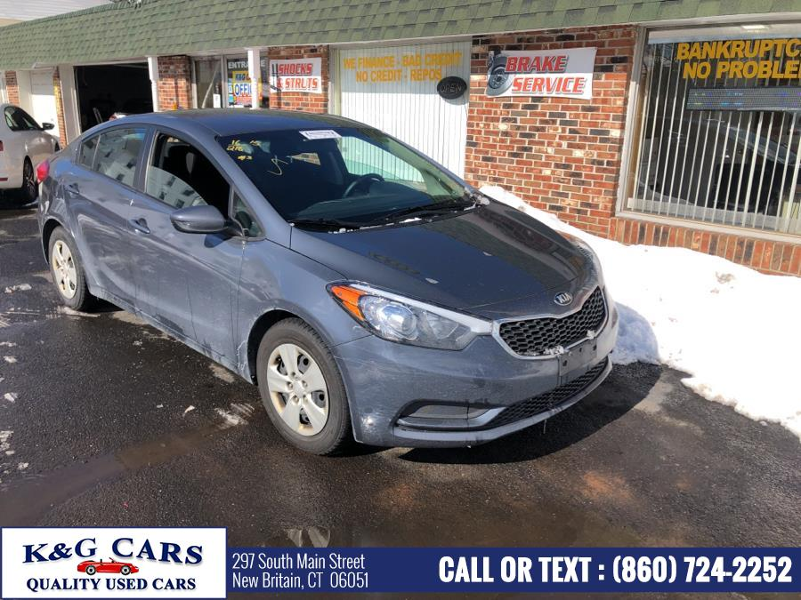 Used 2016 Kia Forte in New Britain, Connecticut | K and G Cars . New Britain, Connecticut