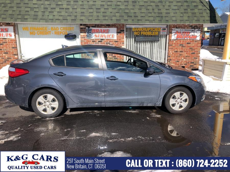 Used Kia Forte 4dr Sdn Auto LX 2016 | K and G Cars . New Britain, Connecticut