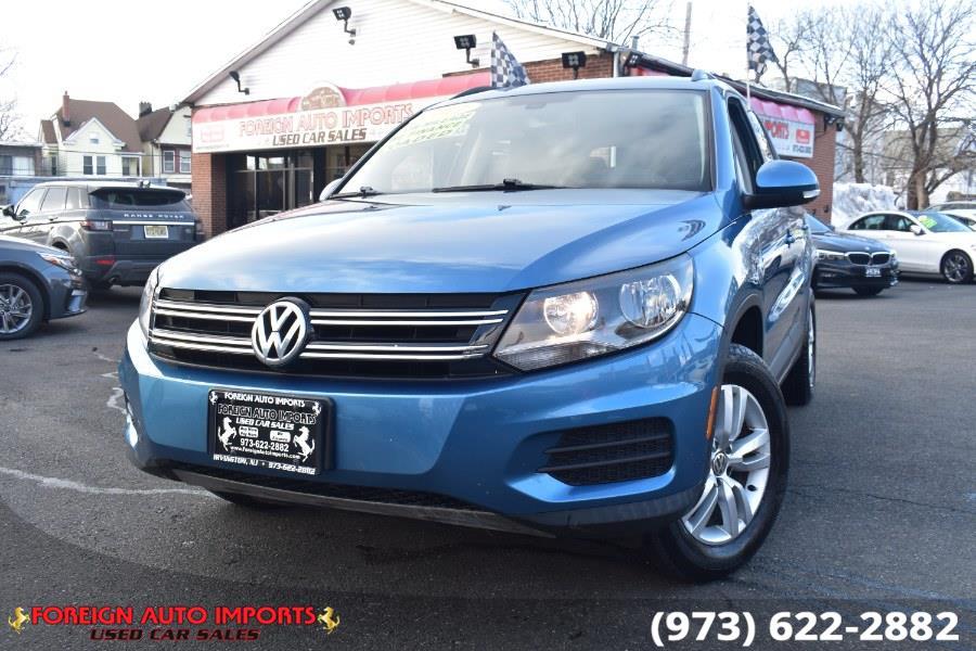 Used 2017 Volkswagen Tiguan in Irvington, New Jersey | Foreign Auto Imports. Irvington, New Jersey