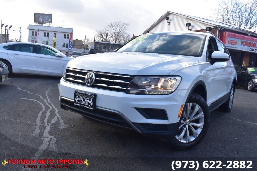 Used 2018 Volkswagen Tiguan in Irvington, New Jersey | Foreign Auto Imports. Irvington, New Jersey
