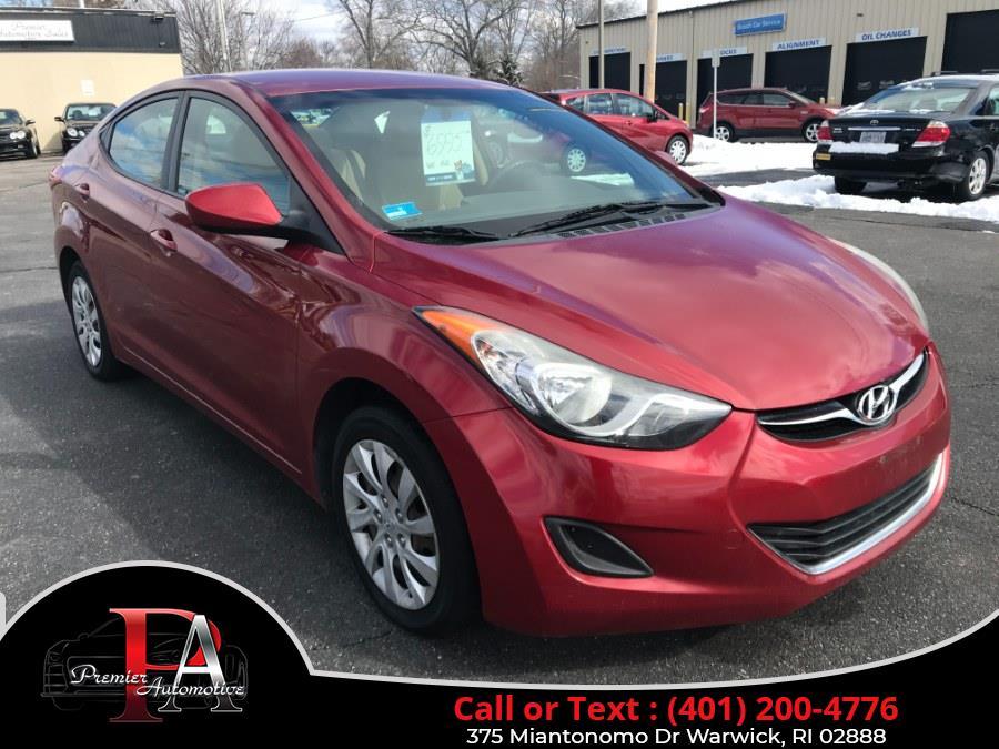 Used 2012 Hyundai Elantra in Warwick, Rhode Island | Premier Automotive Sales. Warwick, Rhode Island