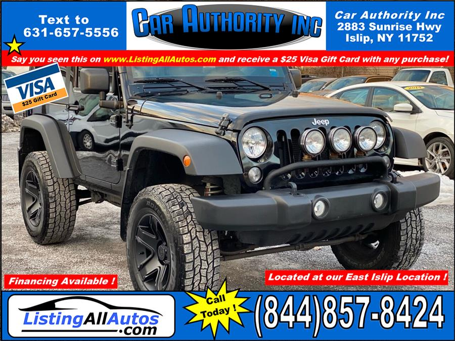 Used Jeep Wrangler Sport 4x4 2dr SUV 2014 | www.ListingAllAutos.com. Patchogue, New York