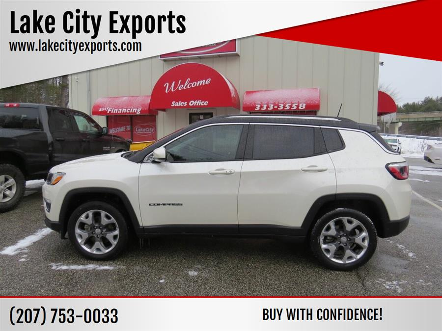 Used Jeep Compass Limited 4x4 4dr SUV 2018 | Lake City Exports Inc. Auburn, Maine