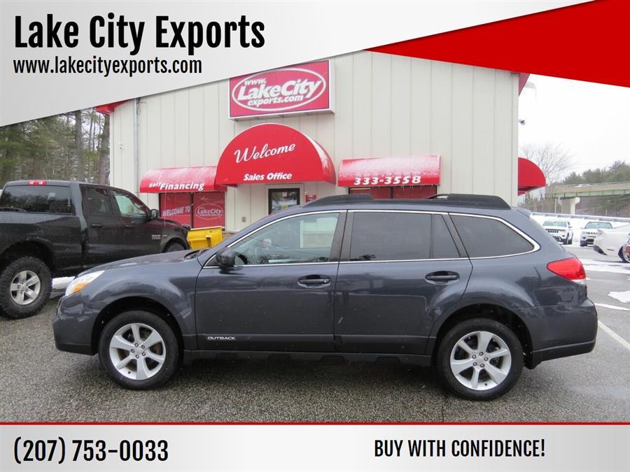 Used Subaru Outback 2.5i Premium AWD 4dr Wagon CVT 2013 | Lake City Exports Inc. Auburn, Maine