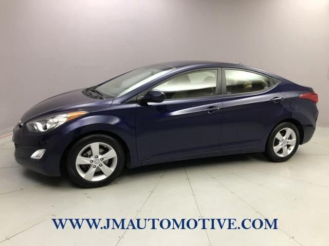 Used Hyundai Elantra 4dr Sdn Auto GLS 2013 | J&M Automotive Sls&Svc LLC. Naugatuck, Connecticut