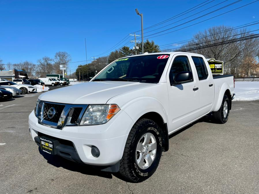 Used Nissan Frontier 4WD Crew Cab LWB Auto SV 2012 | Mike And Tony Auto Sales, Inc. South Windsor, Connecticut