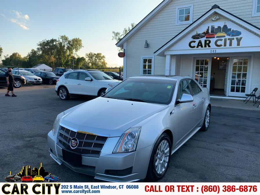 Used Cadillac CTS Sedan 4dr Sdn 3.0L AWD 2011 | Car City LLC. East Windsor, Connecticut