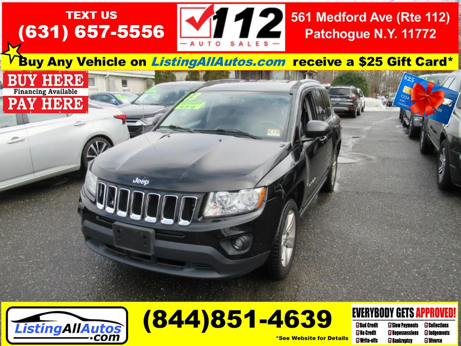 Used Jeep Compass 4WD 4dr Latitude 2013 | www.ListingAllAutos.com. Patchogue, New York