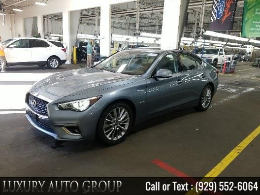 Used INFINITI Q50 3.0t LUXE AWD 2018 | Luxury Auto Group. Bronx, New York