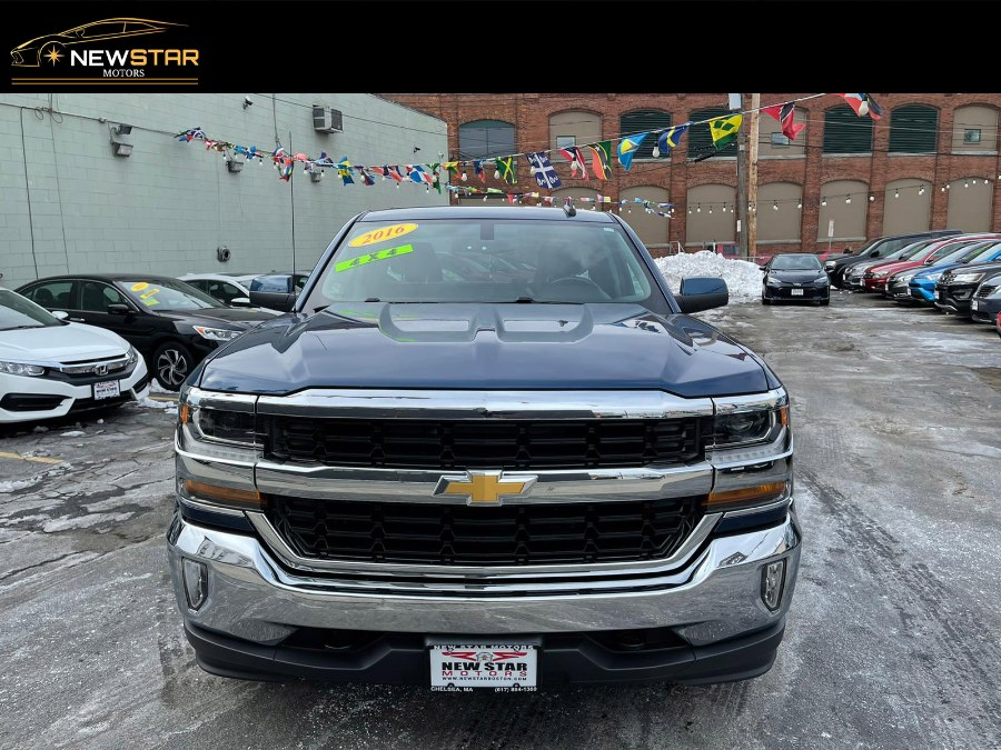 "Used Chevrolet Silverado 1500 4WD Double Cab 143.5"" LT w/1LT 2016 
