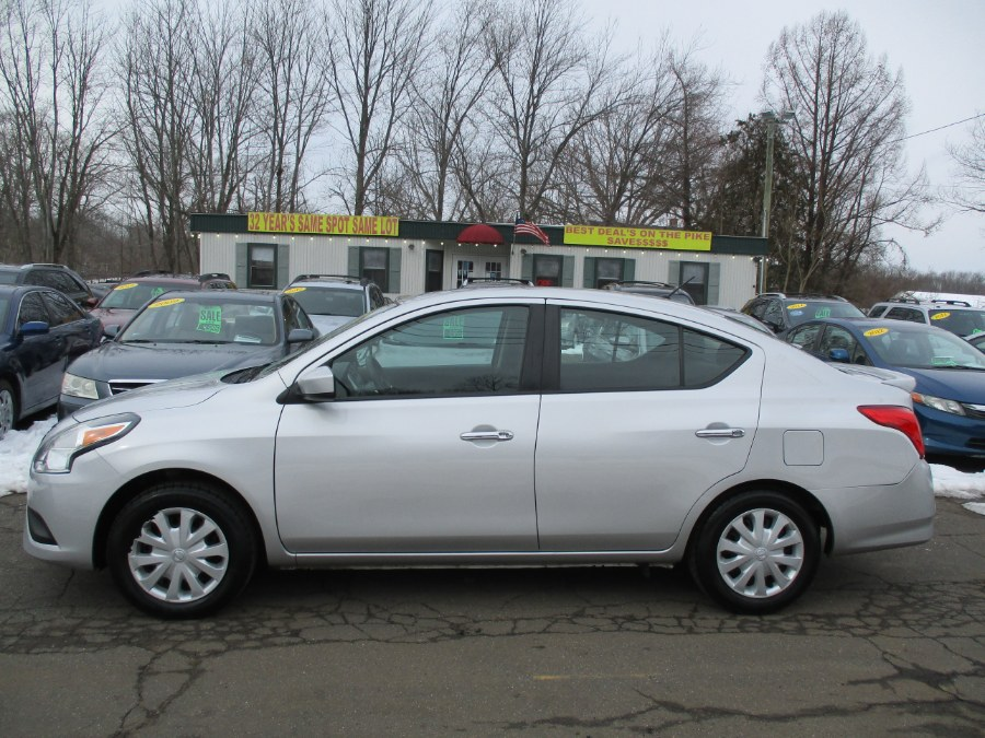Used 2017 Nissan Versa Sedan in Meriden, Connecticut | Cos Central Auto. Meriden, Connecticut