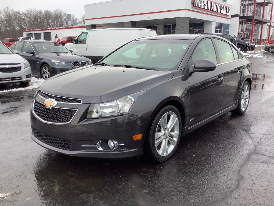 Used Chevrolet Cruze 4dr Sdn LTZ 2014 | Marsh Auto Sales LLC. Ortonville, Michigan