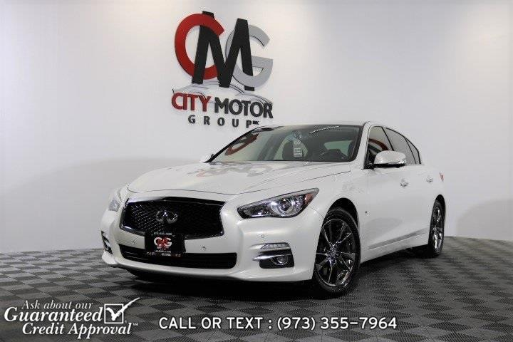 Used 2015 Infiniti Q50 in Haskell, New Jersey | City Motor Group Inc.. Haskell, New Jersey