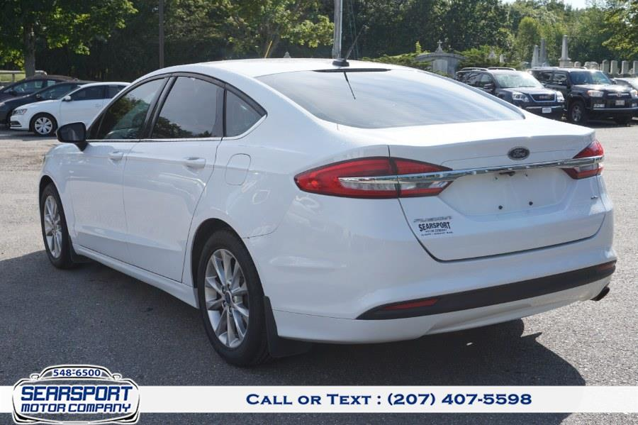 Used Ford Fusion SE FWD 2017 | Rockland Motor Company. Rockland, Maine