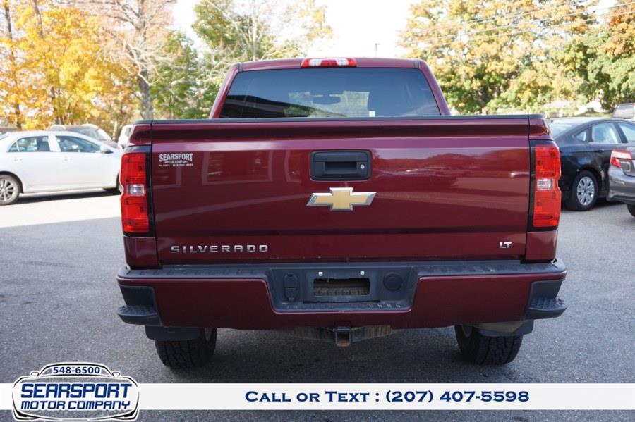 "Used Chevrolet Silverado 1500 4WD Double Cab 143.5"" LT w/2LT 2017 | Rockland Motor Company. Rockland, Maine"