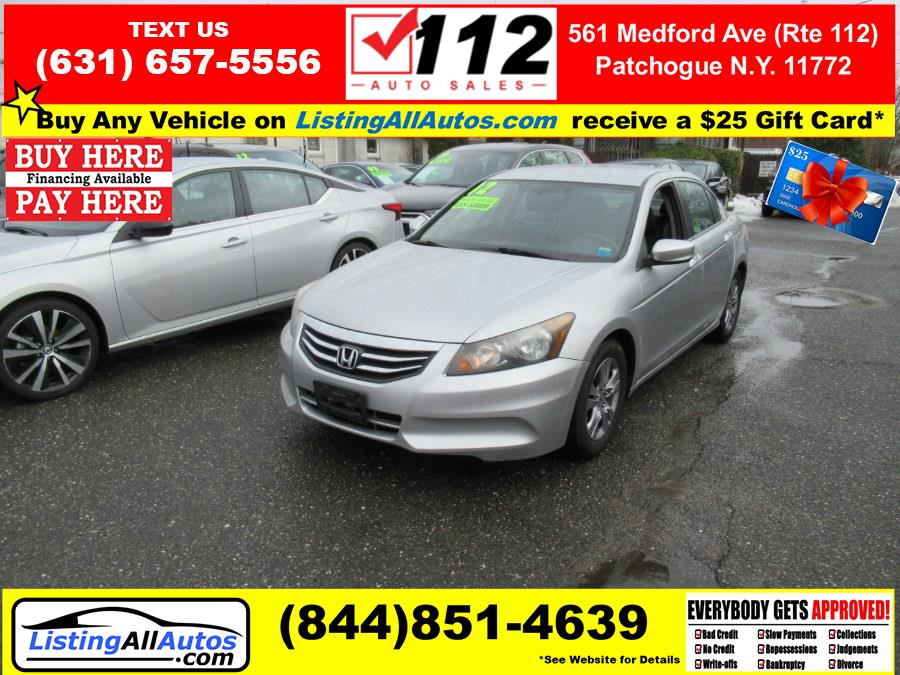 Used 2012 Honda Accord Sdn in Patchogue, New York | www.ListingAllAutos.com. Patchogue, New York