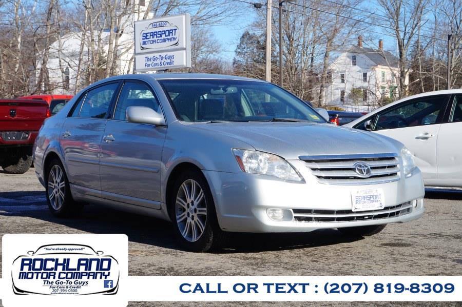 Used Toyota Avalon 4dr Sdn XL 2007 | Rockland Motor Company. Rockland, Maine