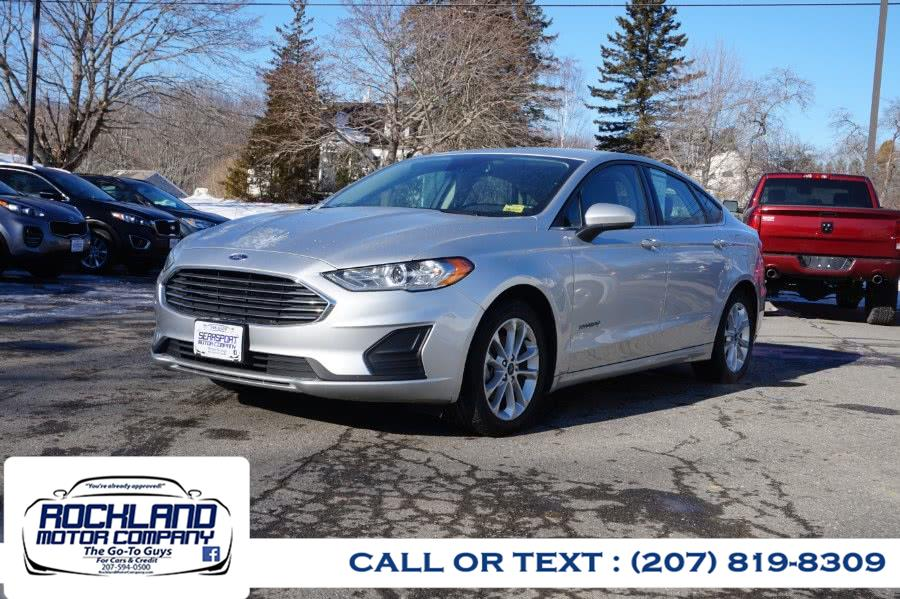 Used 2019 Ford Fusion Hybrid in Rockland, Maine | Rockland Motor Company. Rockland, Maine