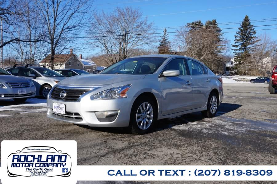 Used 2015 Nissan Altima in Rockland, Maine | Rockland Motor Company. Rockland, Maine