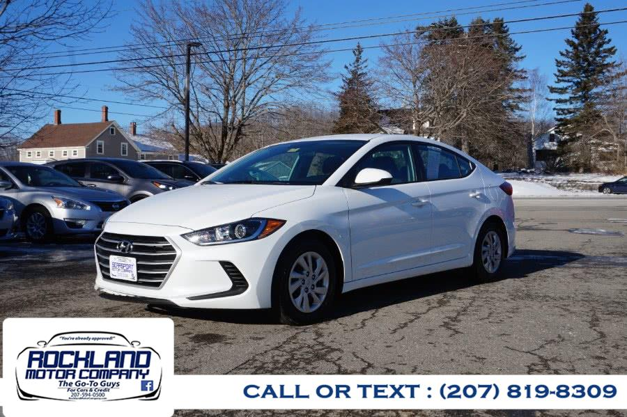 Used 2018 Hyundai Elantra in Rockland, Maine | Rockland Motor Company. Rockland, Maine