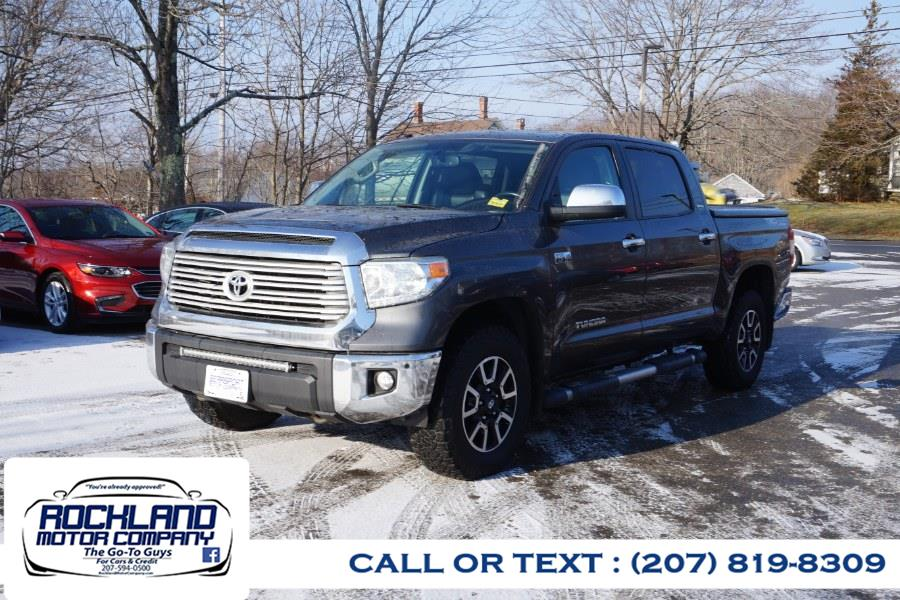 Used 2014 Toyota Tundra 4WD Truck in Rockland, Maine | Rockland Motor Company. Rockland, Maine