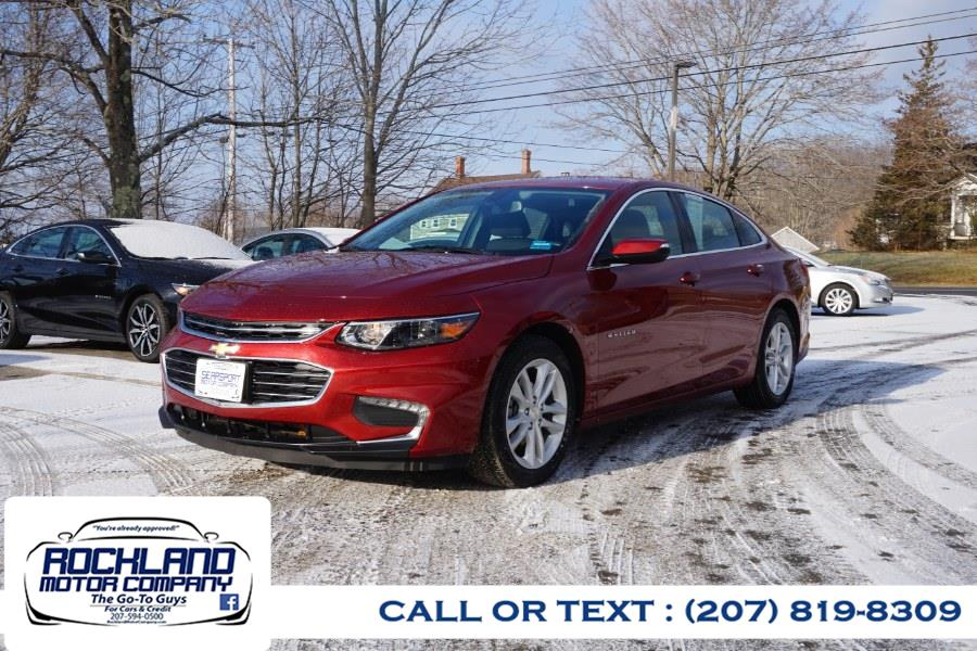 Used 2018 Chevrolet Malibu in Rockland, Maine | Rockland Motor Company. Rockland, Maine