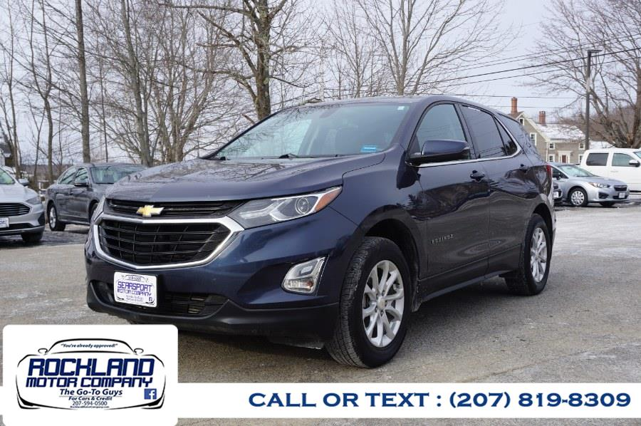 Used 2018 Chevrolet Equinox in Rockland, Maine | Rockland Motor Company. Rockland, Maine
