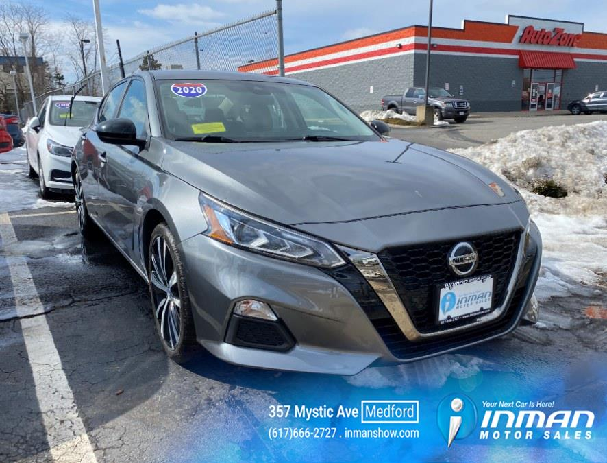 Used 2020 Nissan Altima in Medford, Massachusetts | Inman Motors Sales. Medford, Massachusetts