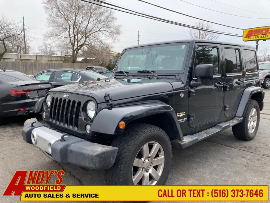 Used 2015 Jeep Wrangler Unlimited in West Hempstead, New York | Andy's Woodfield. West Hempstead, New York