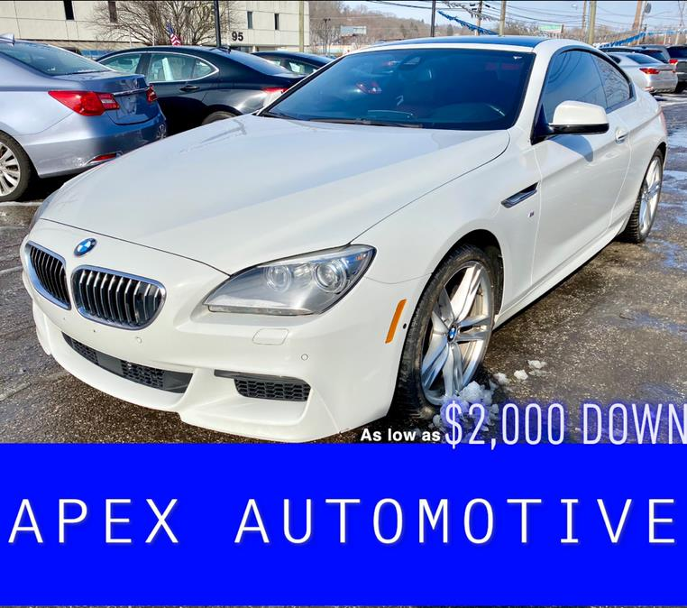 Used BMW 6 Series 2dr Cpe 650i xDrive AWD 2014 | Apex  Automotive. Waterbury, Connecticut