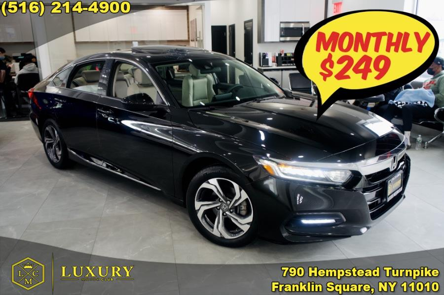 Used 2018 Honda Accord Sedan in Franklin Square, New York | Luxury Motor Club. Franklin Square, New York