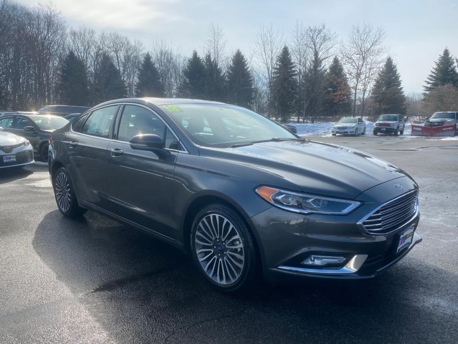 Used Ford Fusion Titanium AWD 2018 | Tru Auto Mall. Berlin, Connecticut