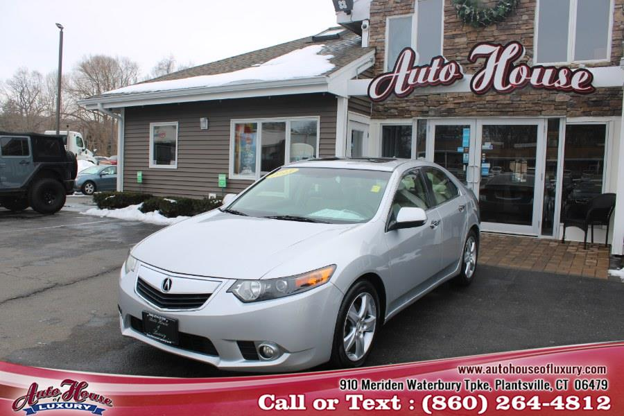 Used Acura TSX 4dr Sdn I4 Auto 2013 | Auto House of Luxury. Plantsville, Connecticut