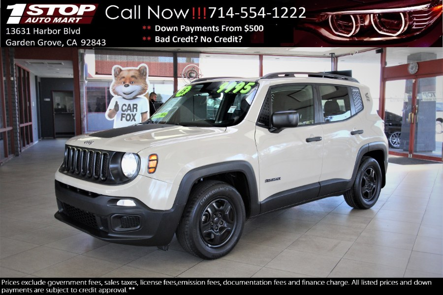Used 2015 Jeep Renegade in Garden Grove, California | 1 Stop Auto Mart Inc.. Garden Grove, California
