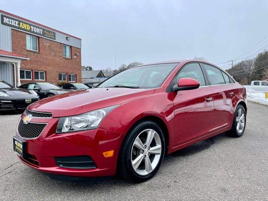 Used Chevrolet Cruze 4dr Sdn LT w/2LT 2012 | Mike And Tony Auto Sales, Inc. South Windsor, Connecticut