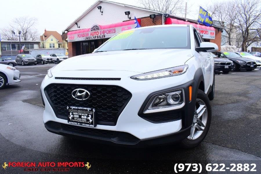 Used Hyundai Kona SE Auto AWD 2021 | Foreign Auto Imports. Irvington, New Jersey