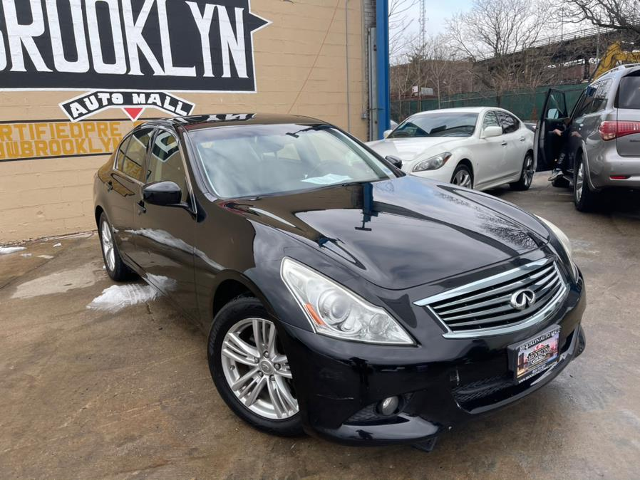 Used INFINITI G37 Sedan 4dr x AWD 2012 | Brooklyn Auto Mall LLC. Brooklyn, New York
