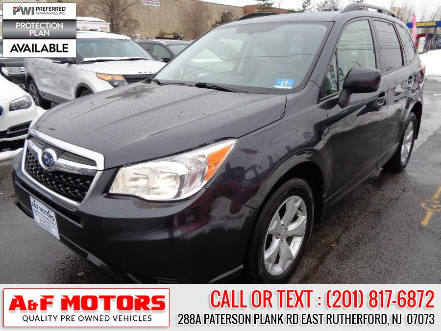 Used Subaru Forester 4dr Auto 2.5i Premium PZEV 2015 | A&F Motors LLC. East Rutherford, New Jersey