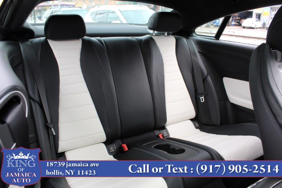 Used Mercedes-Benz E-Class E 400 4MATIC Coupe 2018   King of Jamaica Auto Inc. Hollis, New York