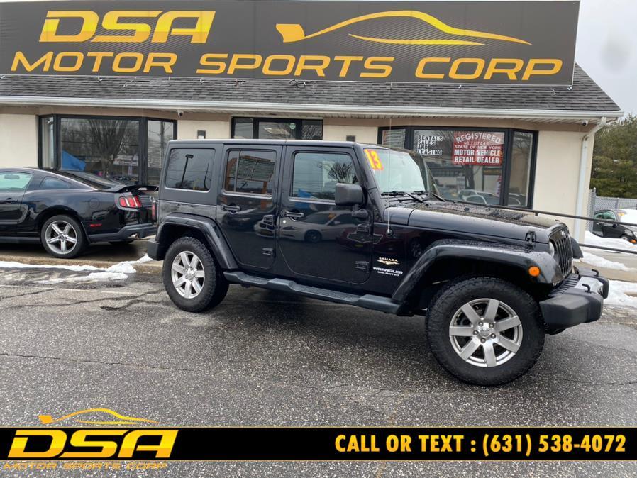 Used Jeep Wrangler Unlimited 4WD 4dr Sahara 2013 | DSA Motor Sports Corp. Commack, New York