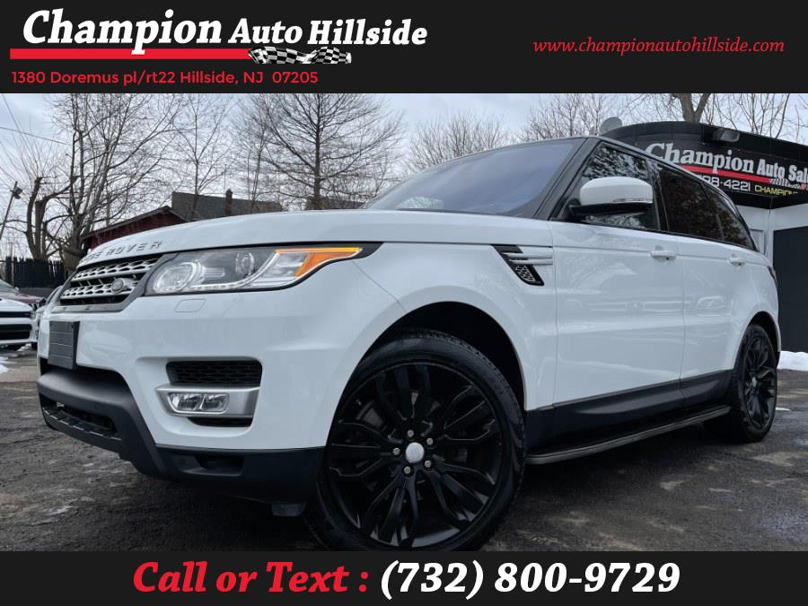 Used 2017 Land Rover Range Rover Sport in Hillside, New Jersey | Champion Auto Sales. Hillside, New Jersey
