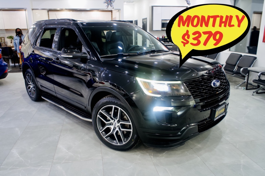 Used Ford Explorer Sport 4WD 2018 | C Rich Cars. Franklin Square, New York
