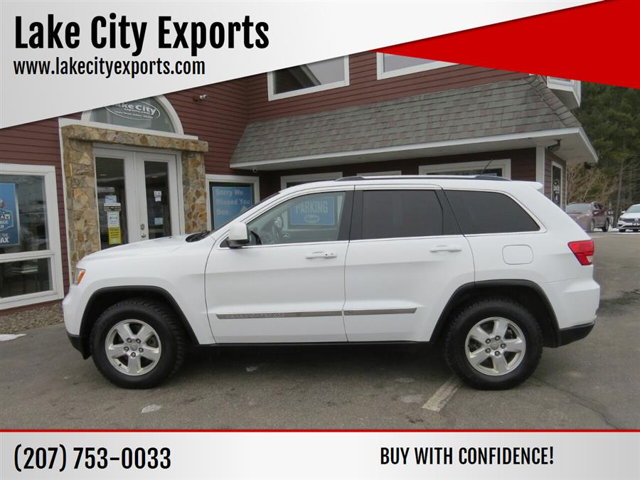 Used Jeep Grand Cherokee Laredo 4x4 4dr SUV 2013 | Lake City Exports Inc. Auburn, Maine